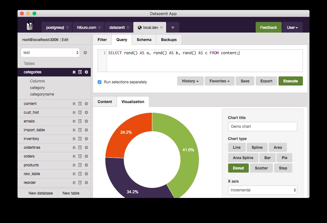 creating a simple web application using a mysql database