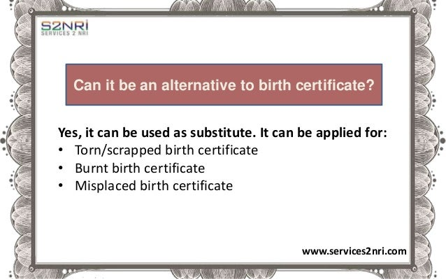 how to fill birth certificate application form