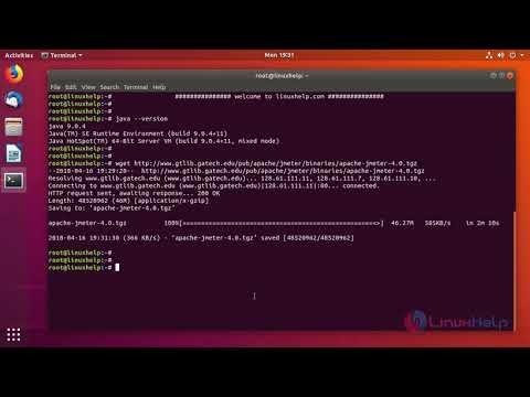jmeter load testing web applications tutorial