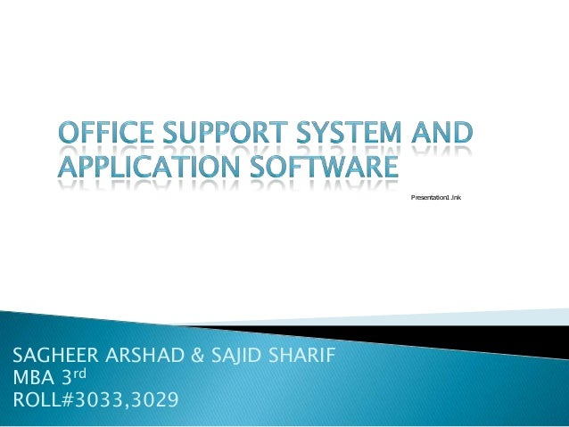 differentiate application software and system software