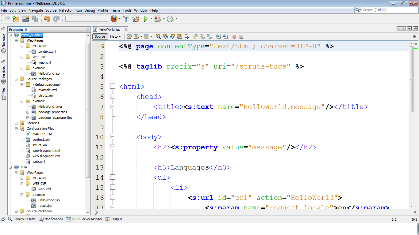 java web application plugin for netbeans