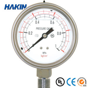 application of bellows pressure gauge
