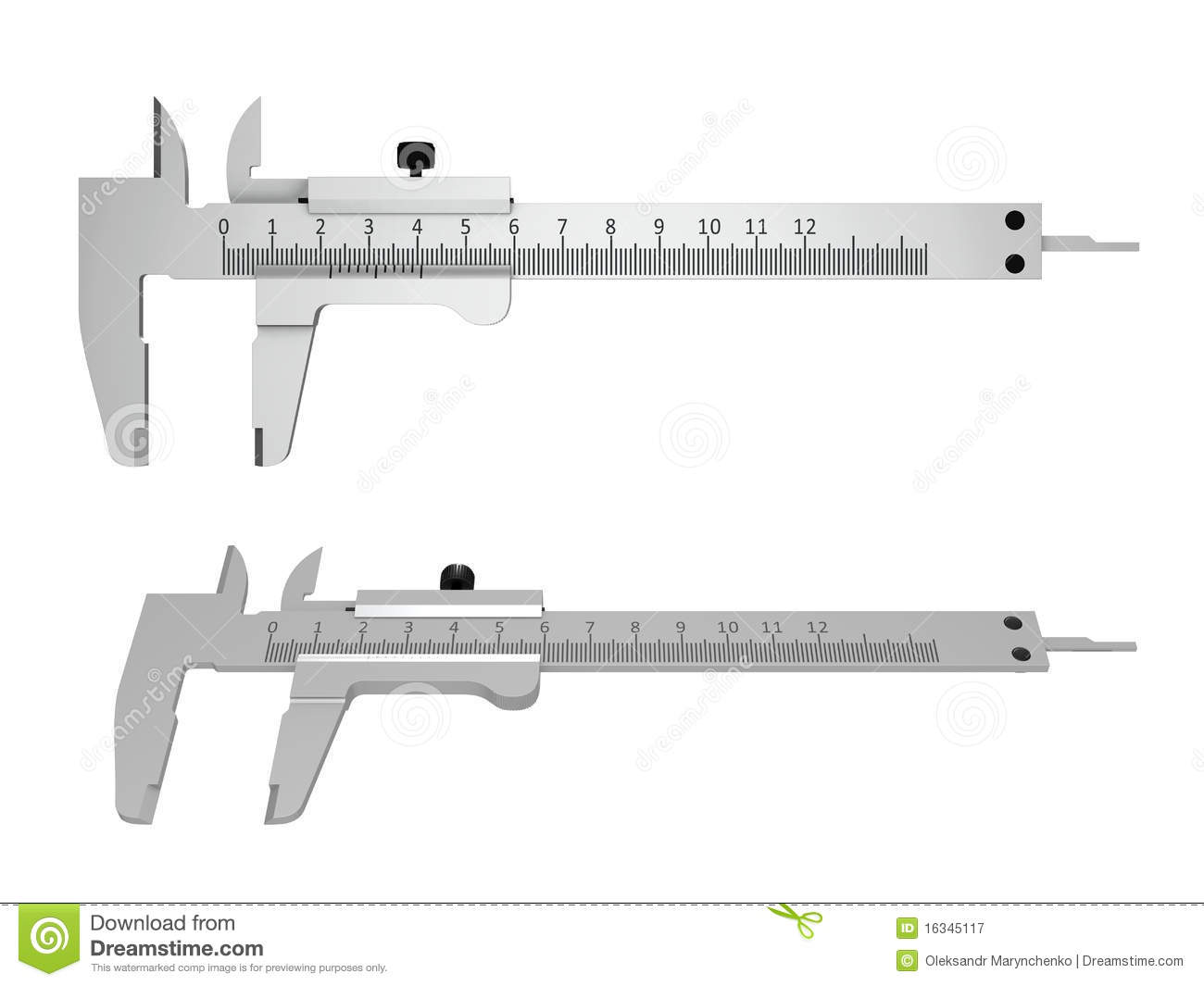 industrial application of vernier calipers