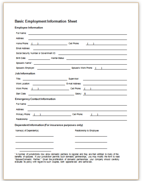 email to hr for job application