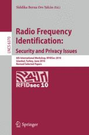 rfid applications security and privacy pdf