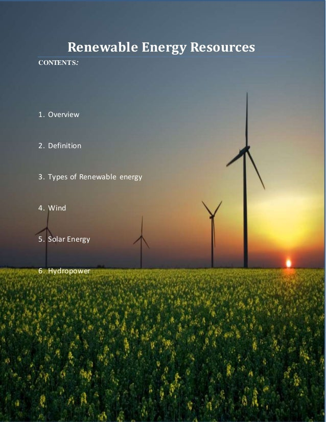 description of the application of the wind energy source
