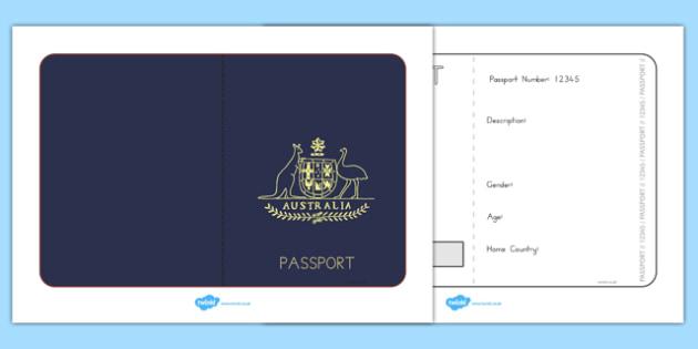 australia child passport application form