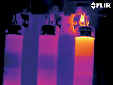 thermal imaging camera electrical application