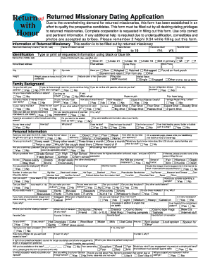 application form to date my daughter