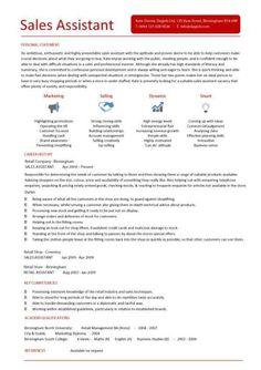 application letter for supermarket job