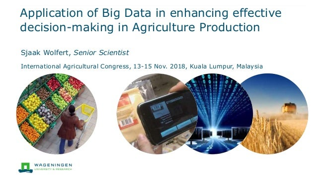 application of big data in agriculture