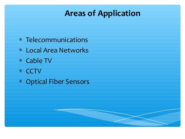 application of optical fiber in local area network