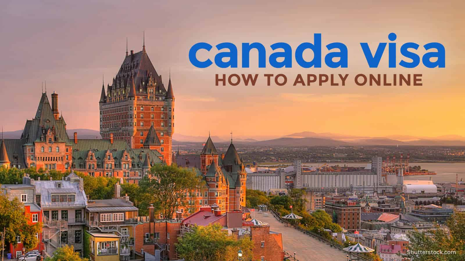 online visa application for canada from india