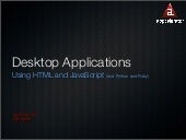 difference between web application and desktop application