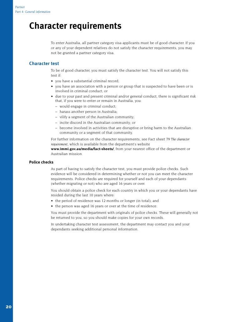 statutory declaration partner visa applicant pdf