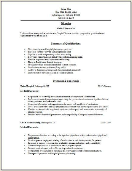 application letter for pharmacy internship