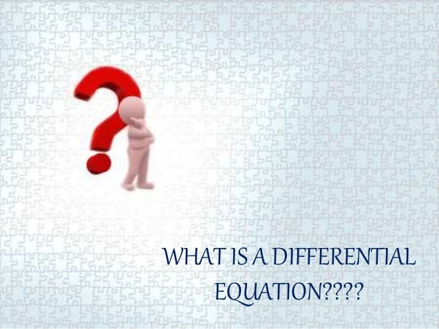 applications of differential equations in engineering