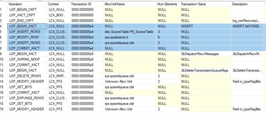 communication between application server and database server