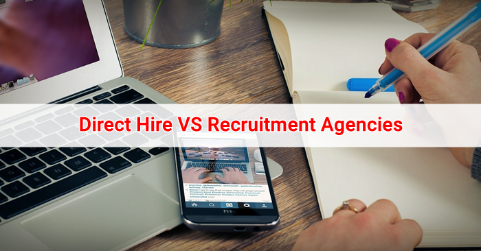 recruitment agency vs direct application