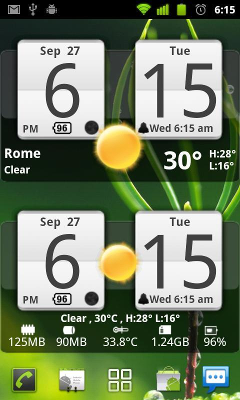 weather forecast application using android