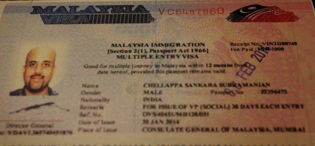 malaysia visa application form singapore