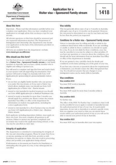 form 47sp application for migration to australia