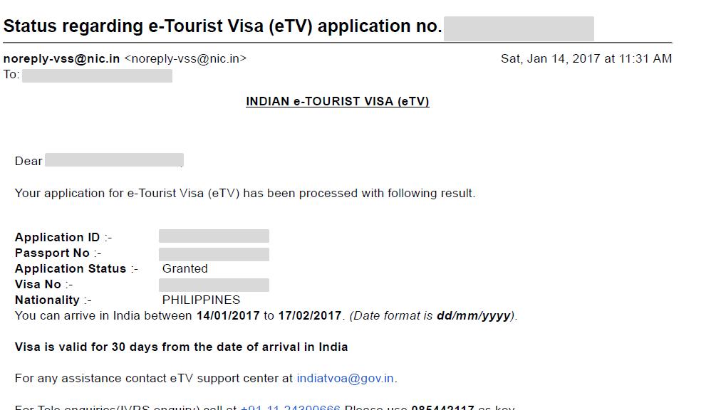 indian visa application new york