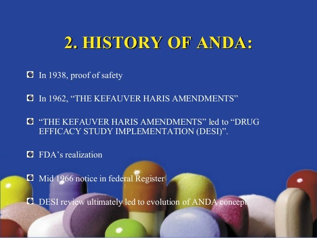 abbreviated new drug application ppt