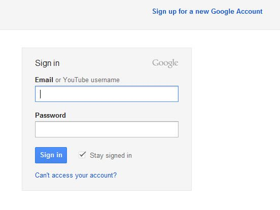 google create application specific password