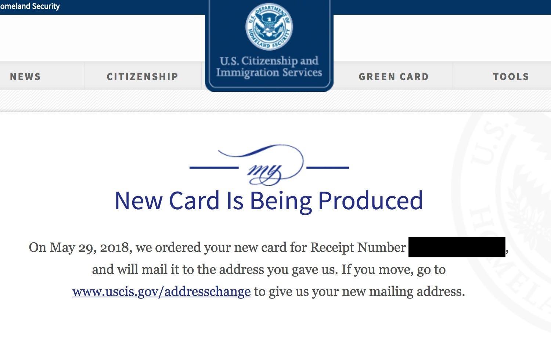 uscis green card application fee