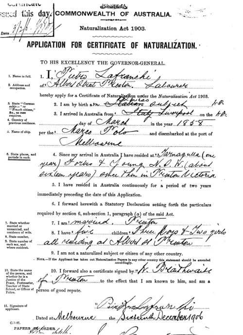 address to send naturalization application