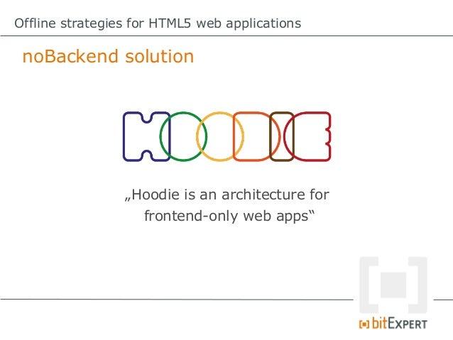 offline web application in html5