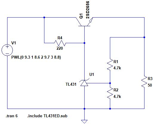 applications of series voltage regulator