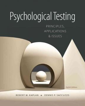 psychological testing principles applications & issues 8ed