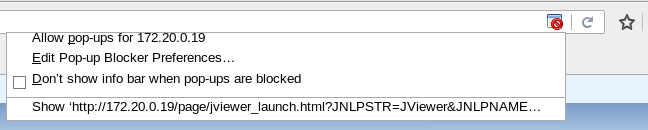 application blocked by java security firefox