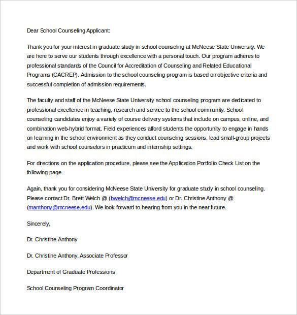 letter of intent for university application sample