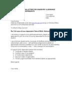 sample cover letter for tourist visa application australia
