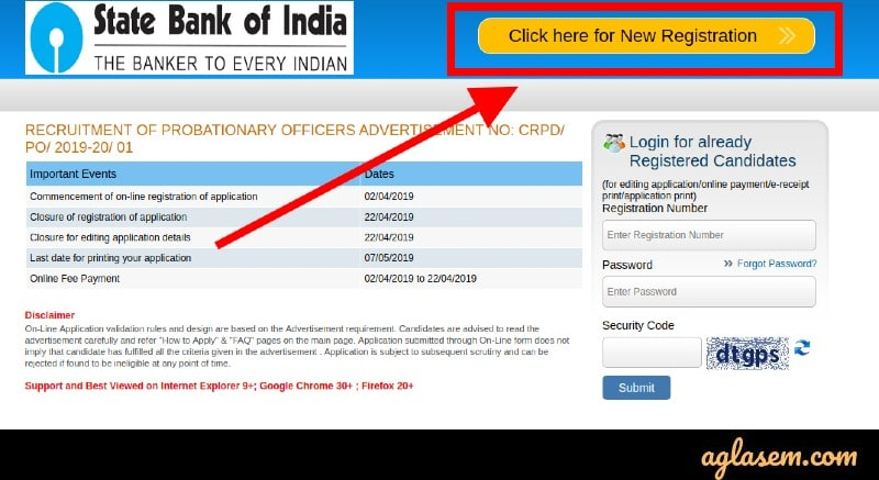 sbi credit card application form