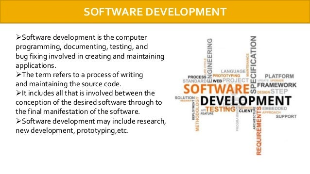 application software refers to programs that