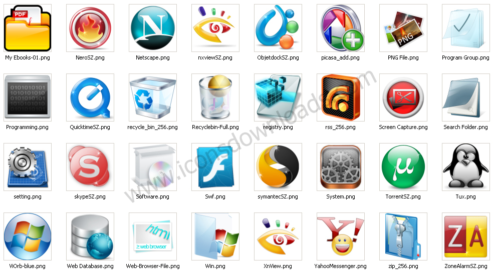 list of application software names