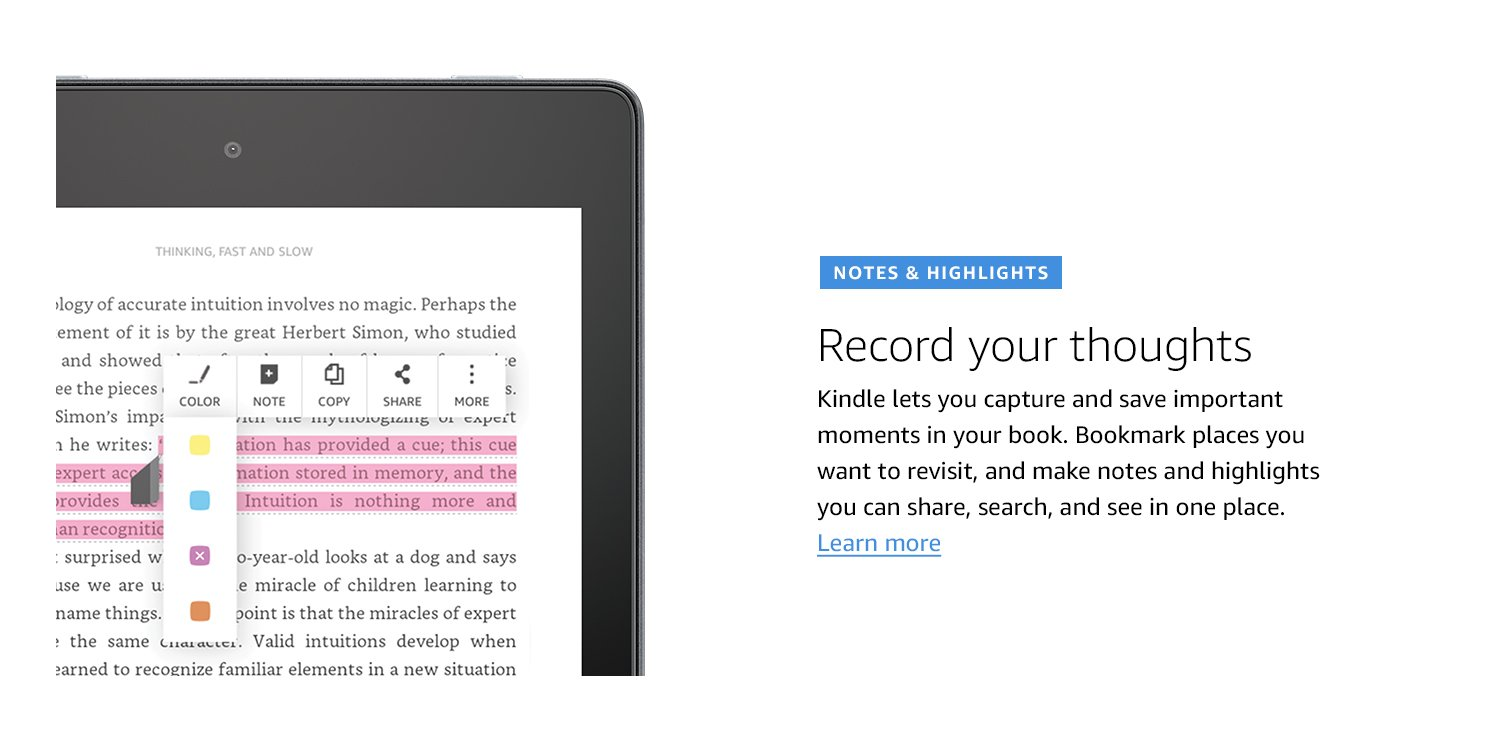 kindle reading application for pc