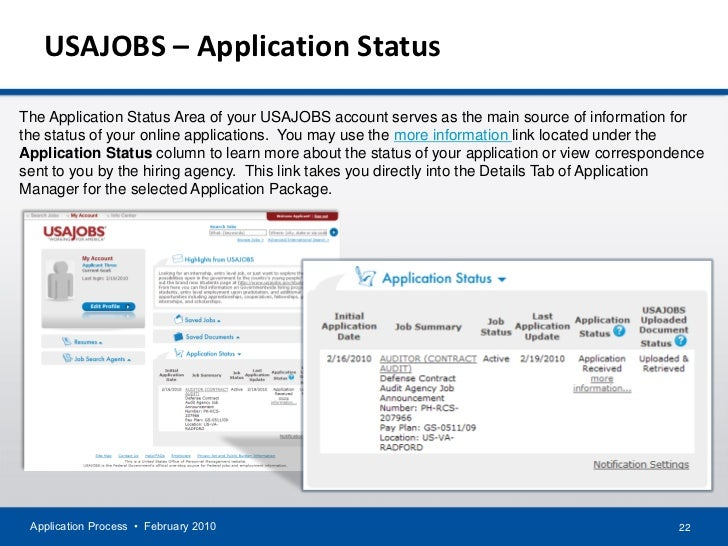enquiry about job application status