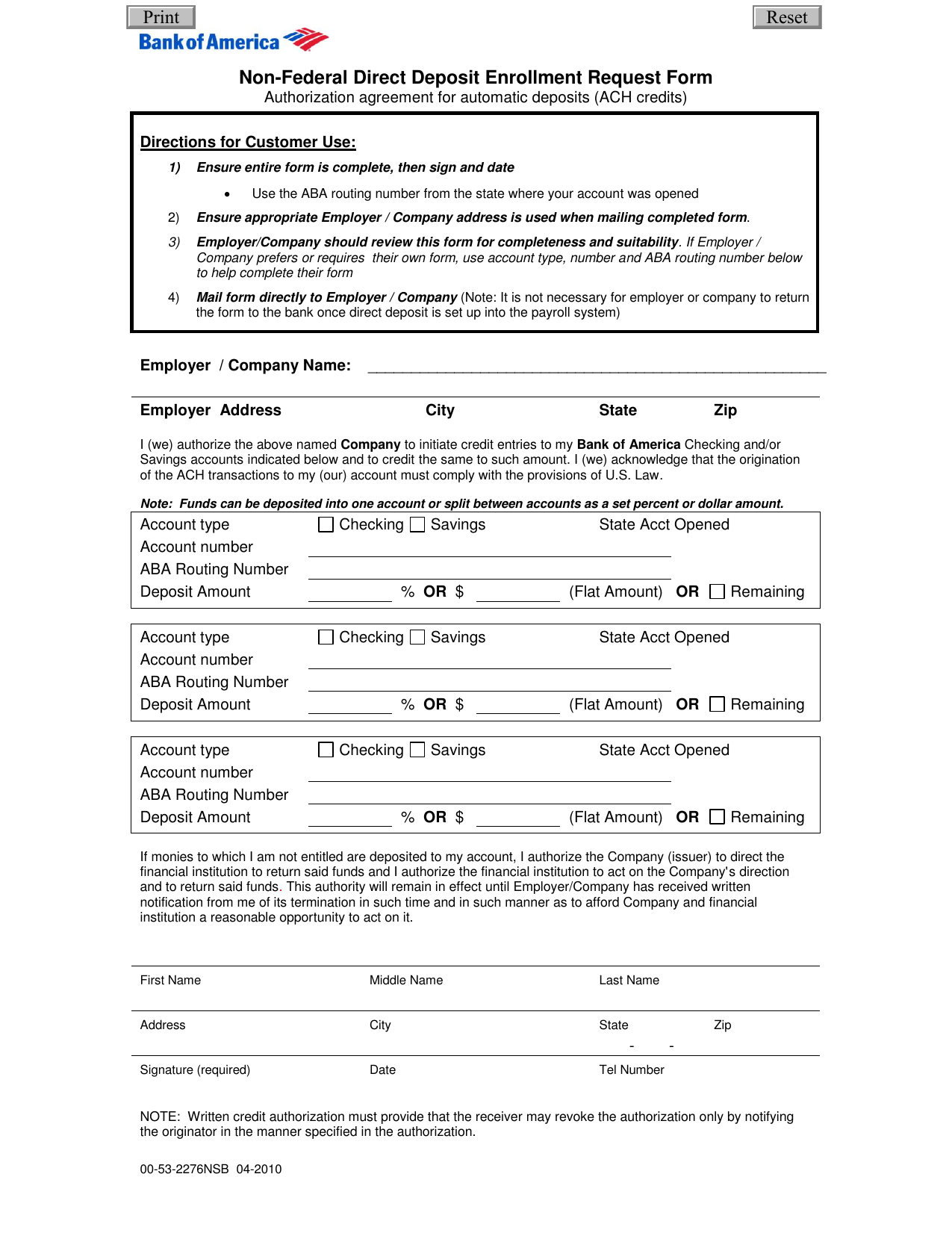 anz bank new account application form
