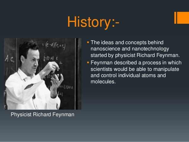 application of nanoscience and nanotechnology