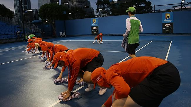 australian open ball boy application