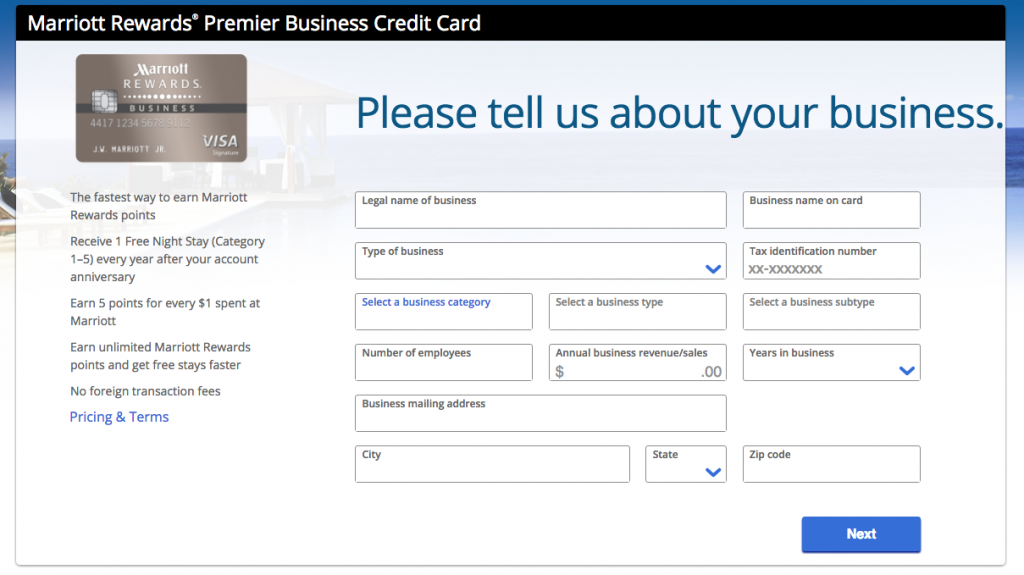 gross annual income credit card application