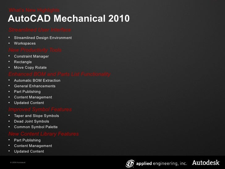 application of autocad in mechanical engineering