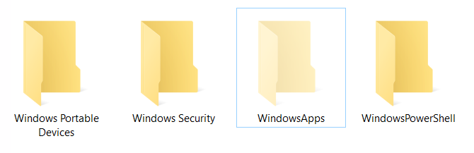 application data folder windows 10