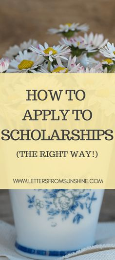 sample scholarship application letter financial need