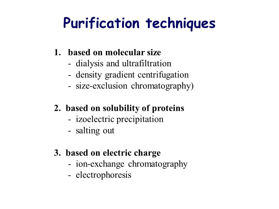 application of dialysis in biochemistry